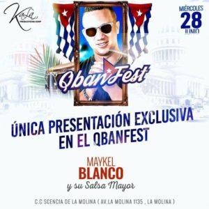 CONCIERTO EN PERU – QBAN FEST – 28 JUNIO
