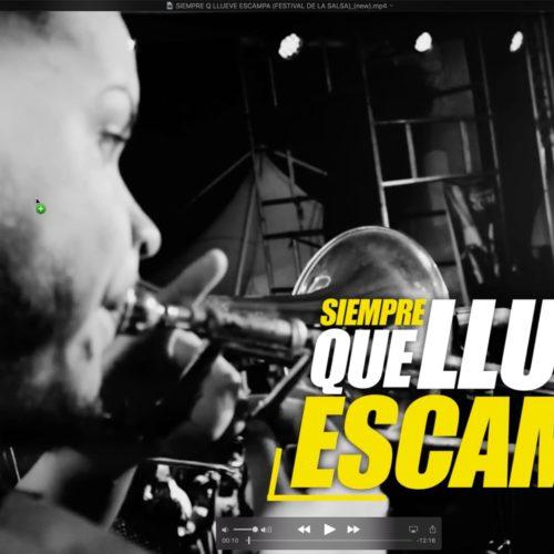Siempre Que Llueve Escampa LIVE (FESTIVAL DE LA SALSA 2017 CUBA)