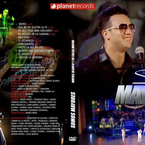 Somos Mayores (Concert DVD Completo con la Sinfónica Nacional)